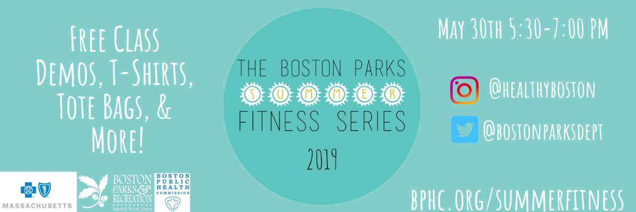 2019 Boston Parks Summer Fitness Series Launch [05/30/19]