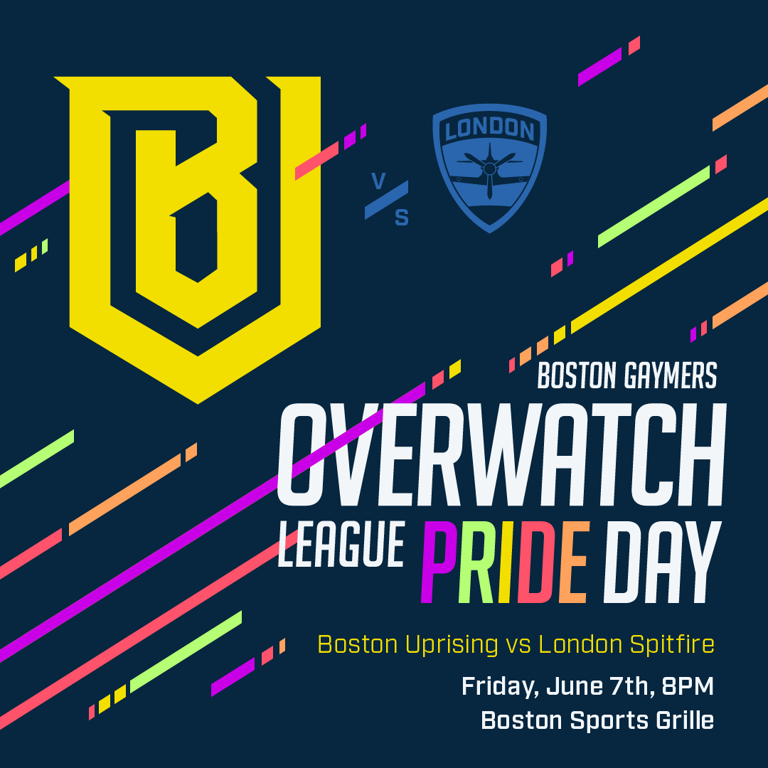 Overwatch Event Calendar.Overwatch League Pride Day Viewing Party 06 07 19