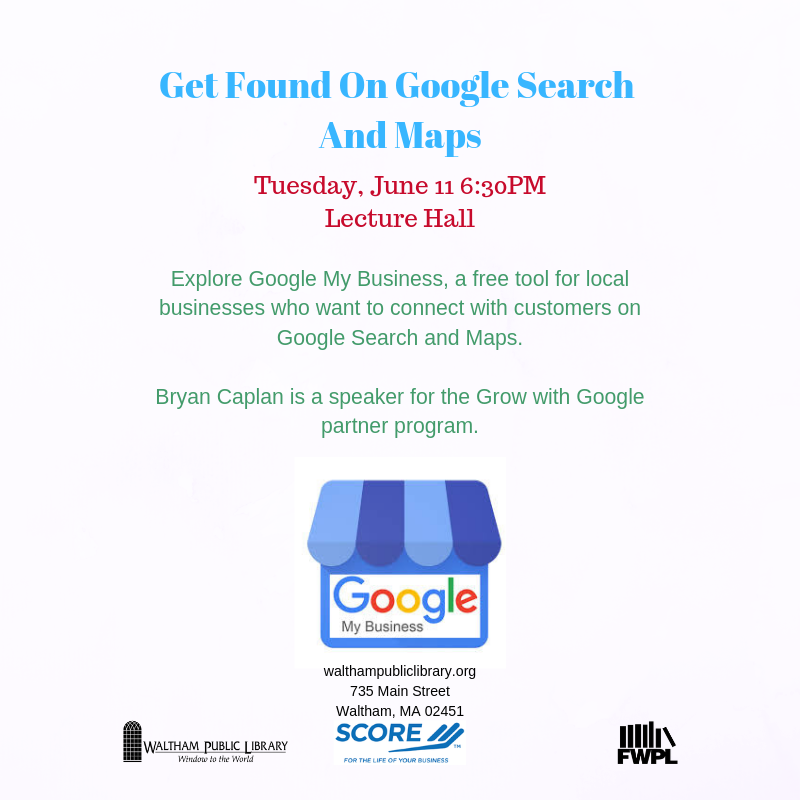 Get Found On Google and Google Maps [06/11/19] on
