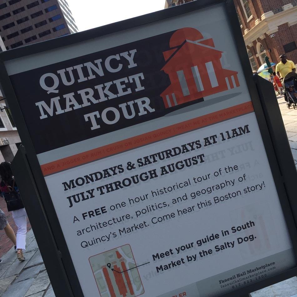Quincy Market History Tour