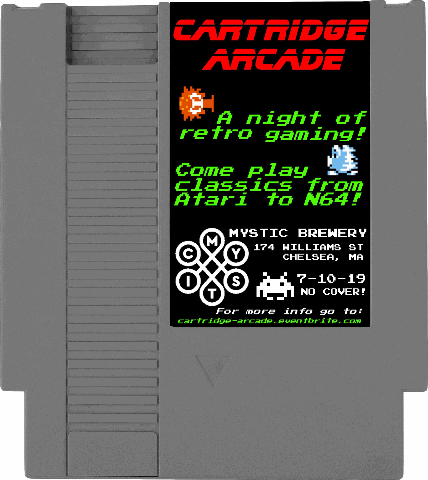 Cartridge Arcade [07/10/19]