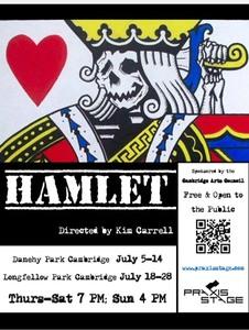 hamlet new cambridge  Praxis Stage: 'Hamlet' [07/05/19]