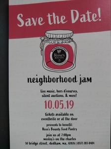 Neighborhood Jam 10 05 19