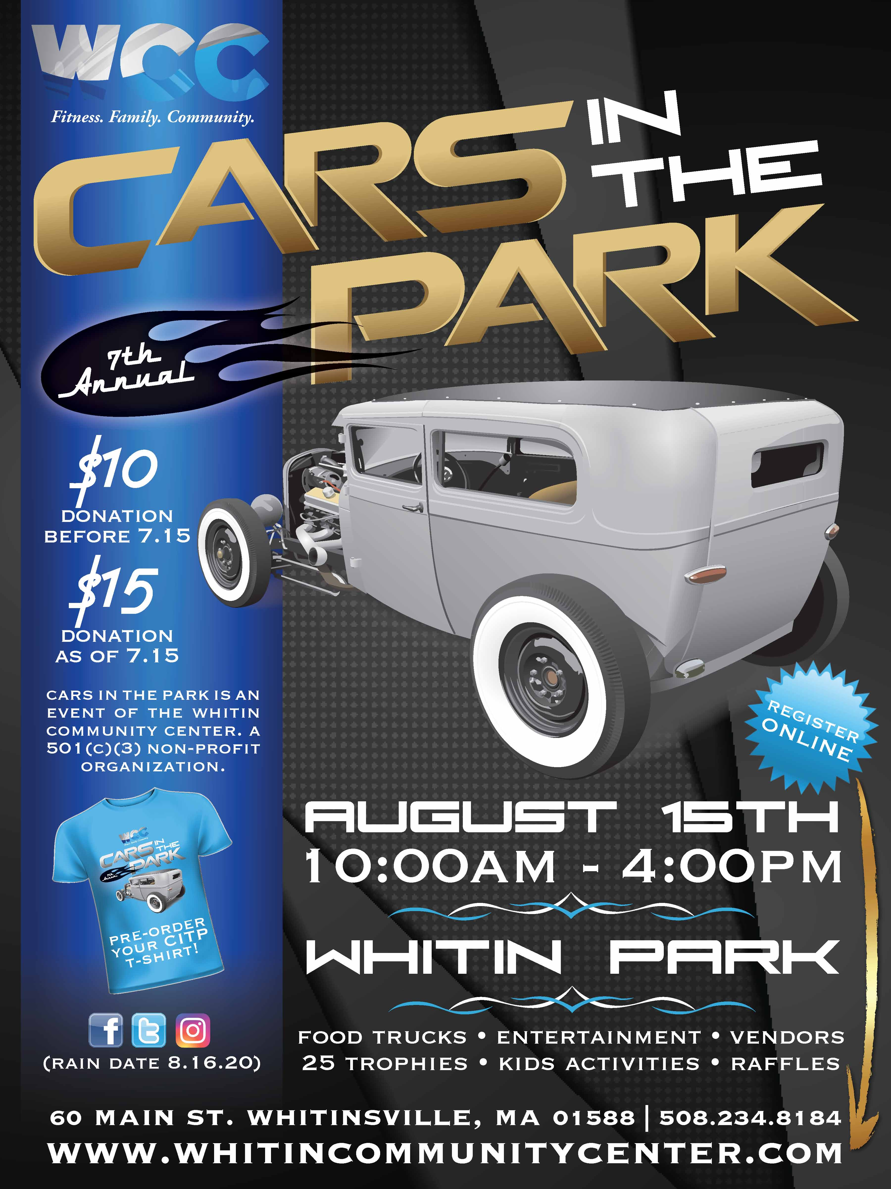 Wcc S 7th Annual Cars In The Park 08 15 20
