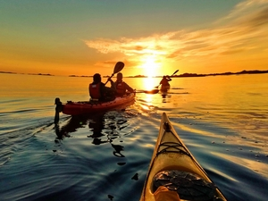 Kayaking_eggum_lofoten_summer