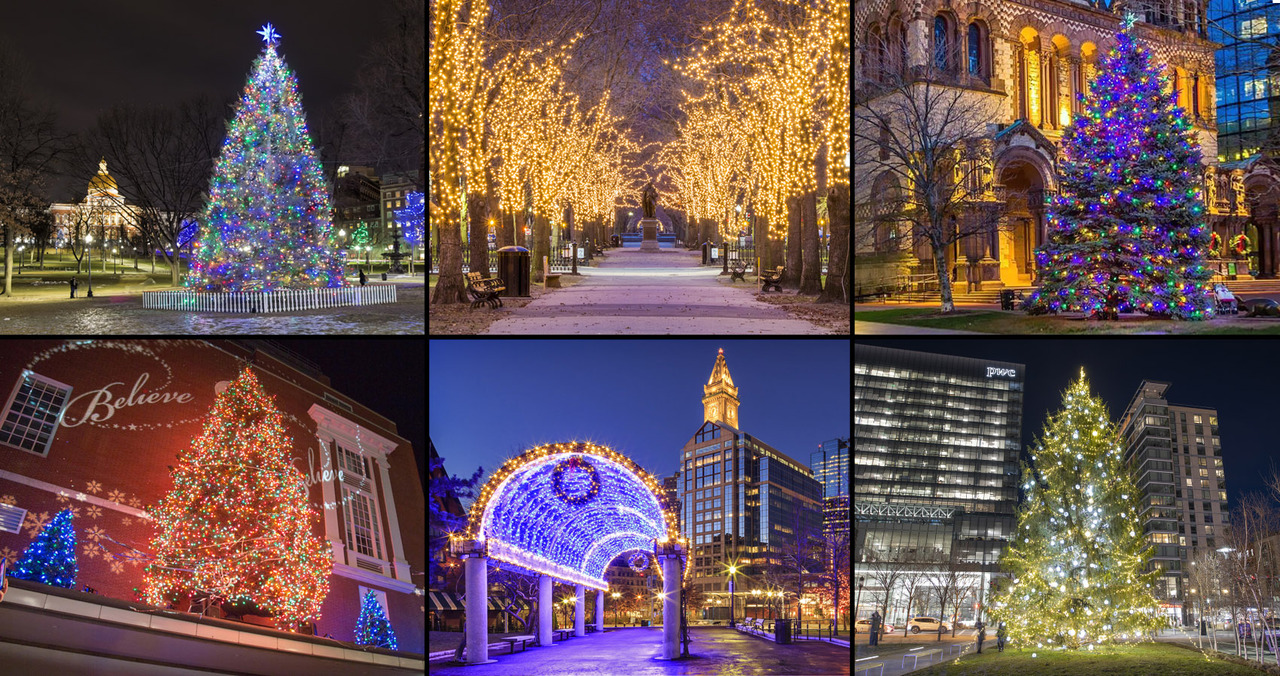 Christmas Tree Lightings Near Me 2021 Six Places To See Holiday Lights Around Boston In 2020 11 18 20
